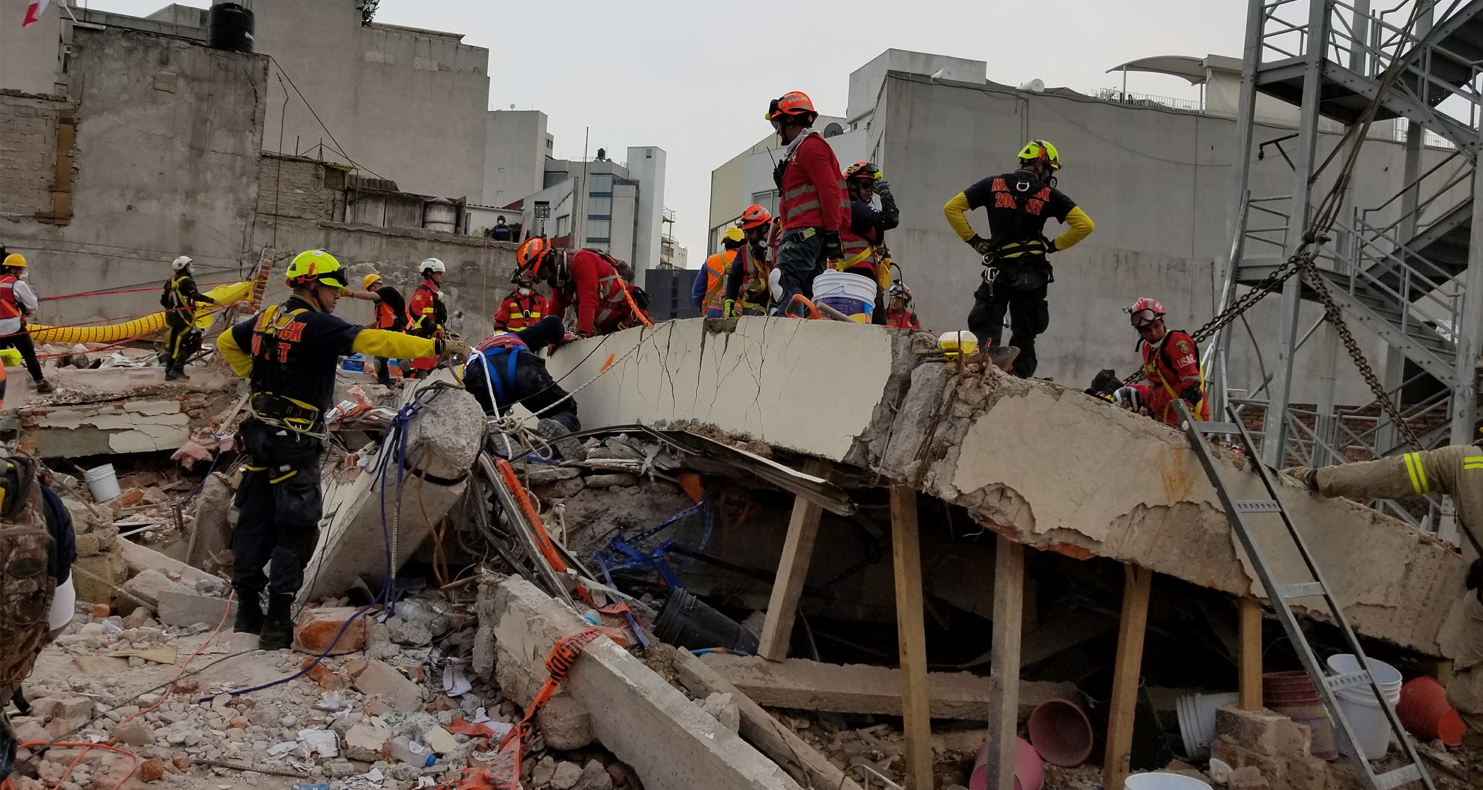 Mexico Earthquake Disaster Response