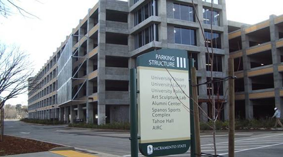 California State University Sacramento Parking Structure