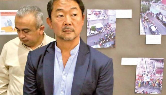 Japoneses asesoran a víctimas del 19-S en la Ciudad de México