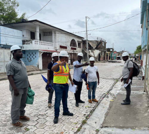 Haitian Government Engineers Trained Under USAID/BHA Mobilized For Damage Assessments In Haiti's Impacted Areas