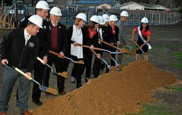 The Reporter: Fairfield-Suisun Unified School District breaks ground on new gym, library at Public Safety Academy