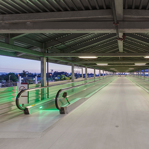 Bob Hope Airport, Regional Intermodal Transportation Center, Elevated Walkway