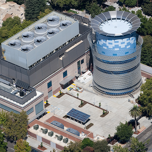 California Department of General Services, Tower Renovation, Central Plant Cooling