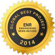 Miyamoto wins ENR Best Project 2014