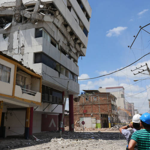 Ecuador Earthquake Disaster Response Initiative