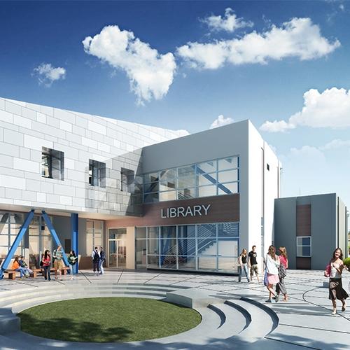Fairfield-Suisun Unified School District, Public Safety Academy Gym, Locker Room & Library