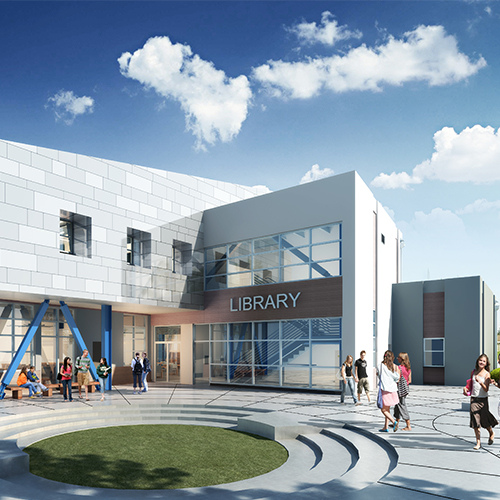 Fairfield-Suisun Unified School District, Public Safety Academy Gym, Locker Room & Library