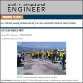 SEISMIC ZONE: Haitians rebuild Haiti