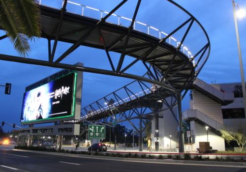 Universal City Station Pedestrian Bridge