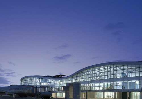 Otopeni International Airport, Finger Building