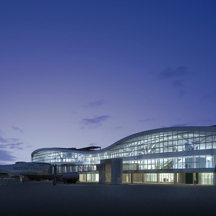 Otopeni International Airport, Finger Building