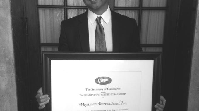 Miyamoto Wins Presidential Award