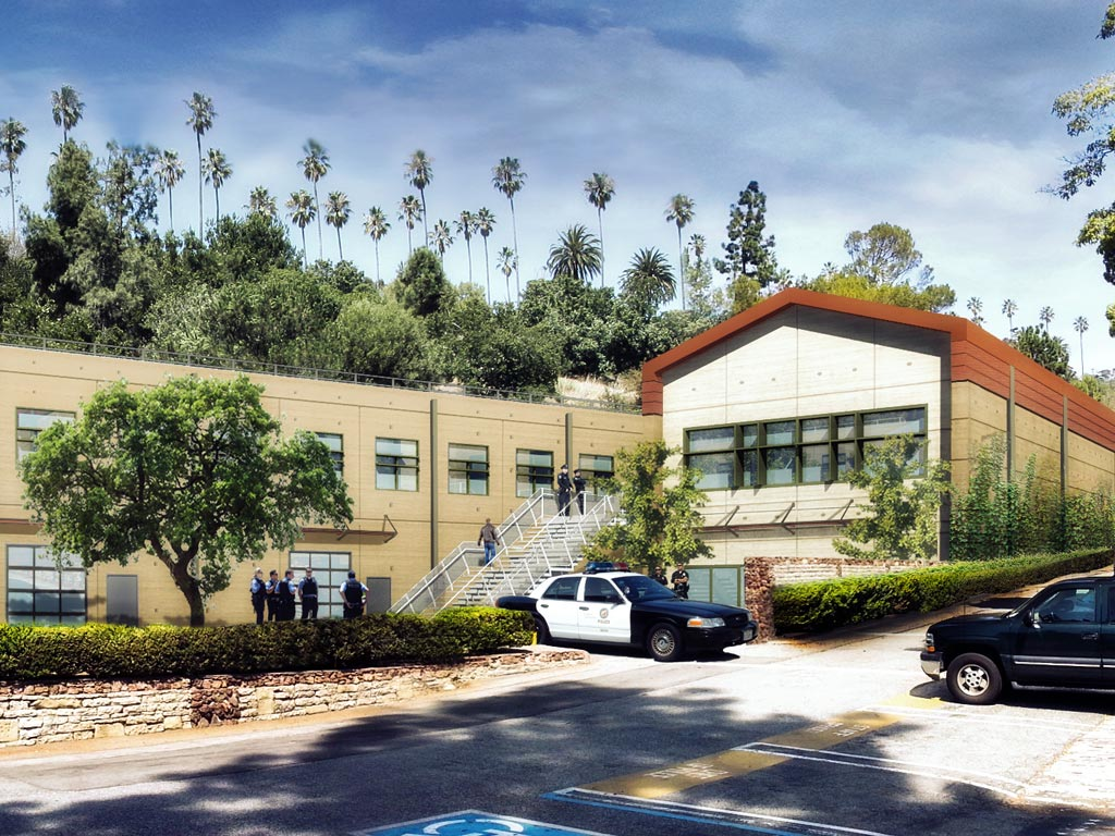 Los Angeles Police Academy Training Facility