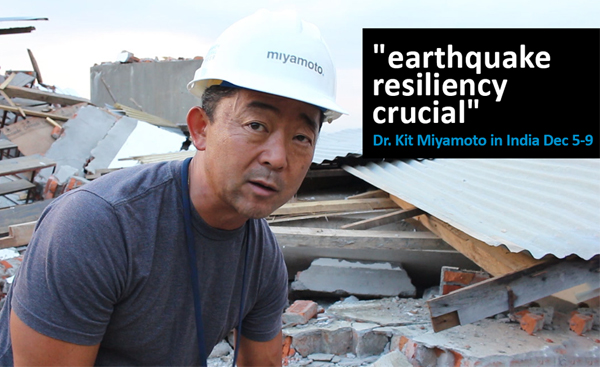 Miyamoto To Meet On Earthquake Resilience In India
