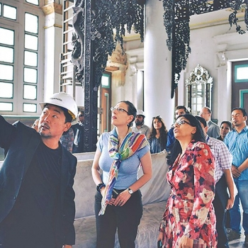 Kathmandu Post: Saving History: Making the Historical Monuments of the Kathmandu Valley Seismically Safe