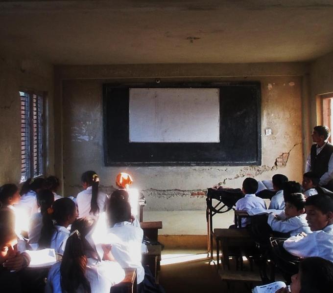 Schoolchildren Risk Lives For Education