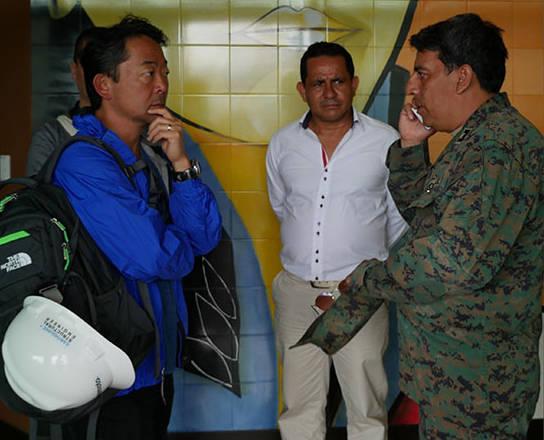 Ecuador Day 1: JOURNEY TO MANTA EARTHQUAKE DEVASTATION