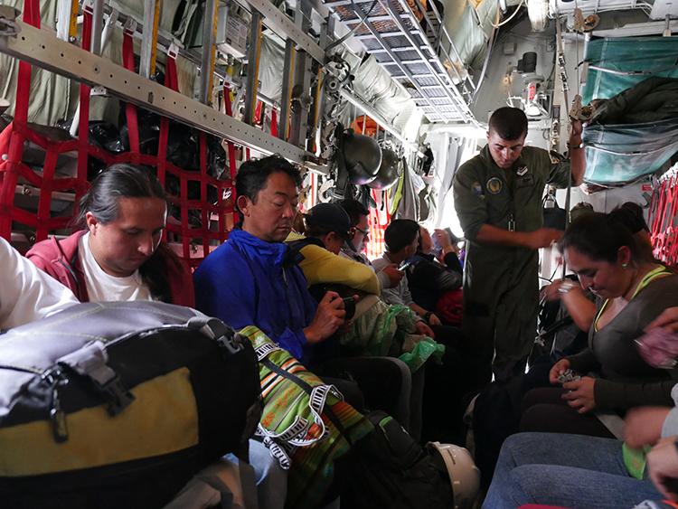 On our way to Manta, Ecuador