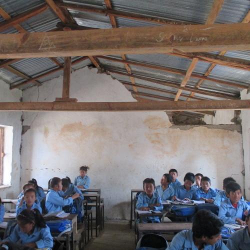 Planète Enfants' School Reconstruction Program