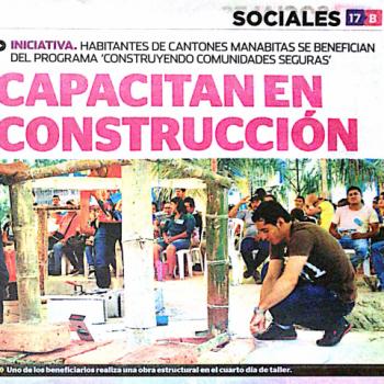El Diario – Capacitan en Construcción