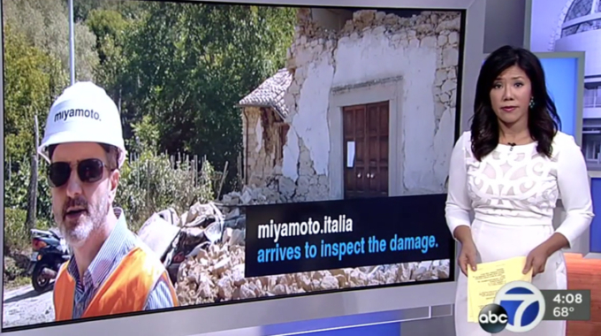 Northern CA Company in Italy to Investigate Quake Damage