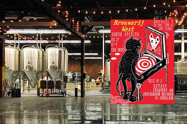 World War II-Era  Warehouse Transformed – Brouwerij West