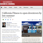 California Fitness to open downtown by late summer