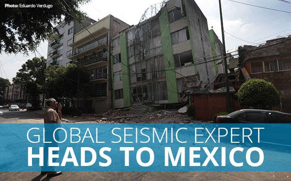 Global Earthquake Recovery Specialist Arrives in Mexico