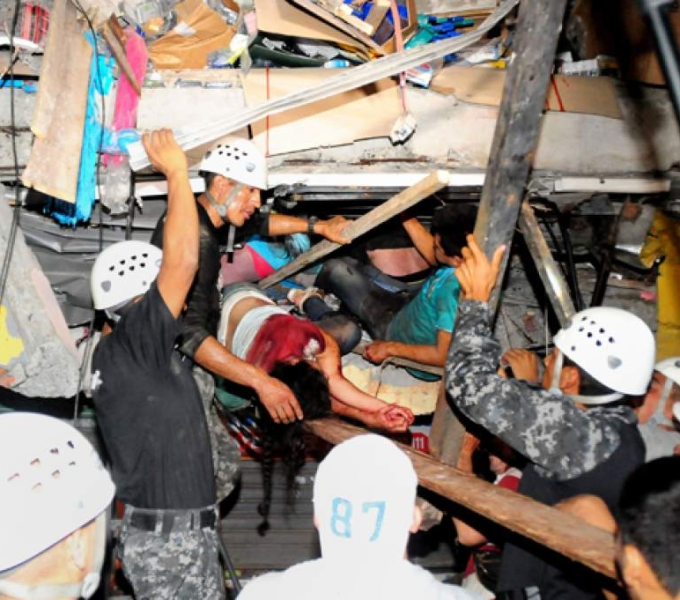 Earthquake Structural Expert Dispatched to Ecuador