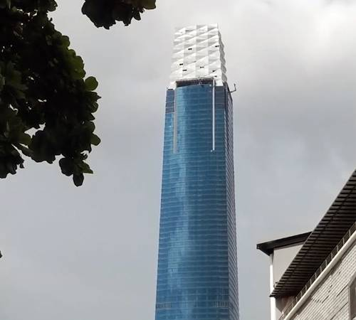 Tallest Building In Malaysia Nearly Complete