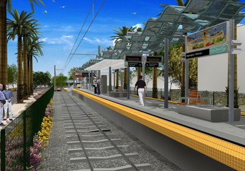 Exposition Light Rail Line Phase I