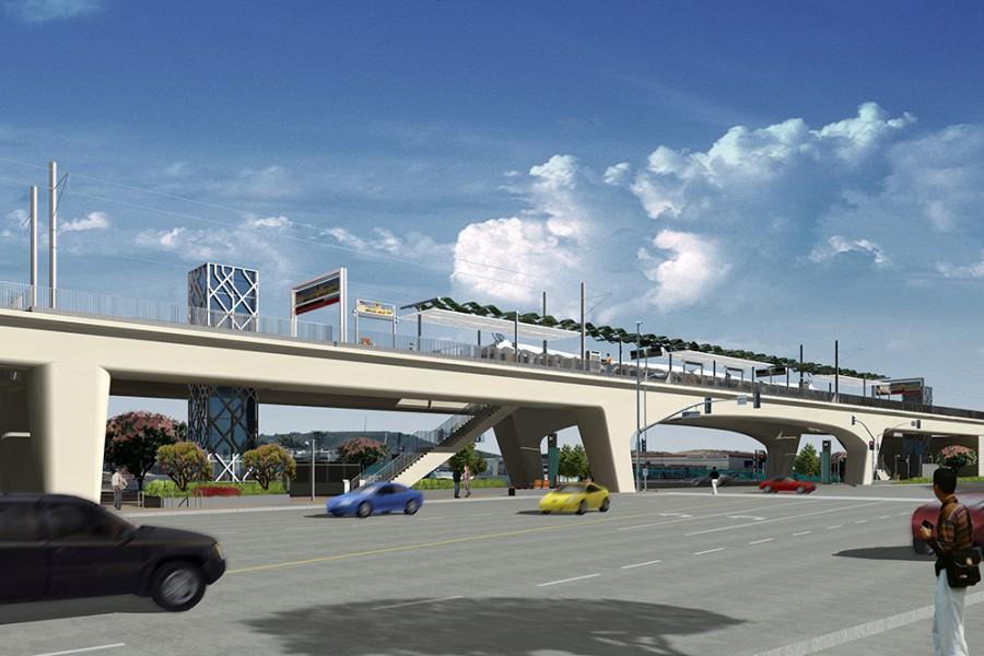 Exposition Light Rail Line Phase I