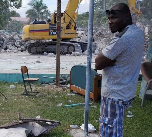 A Forgotten Disaster: Haiti's 2021 Earthquake   Week 1 – Les Cayes
