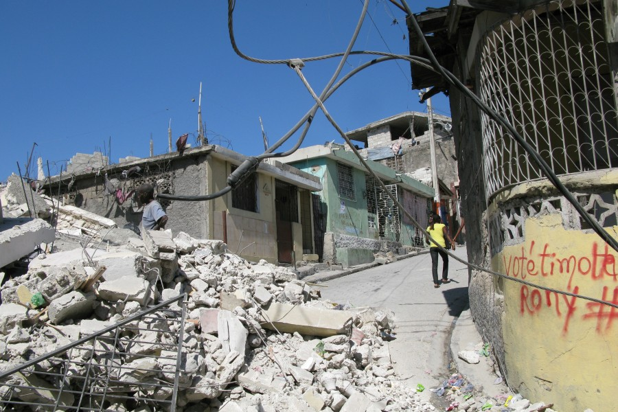 Damage assessment of 400,000 Structures in Haiti