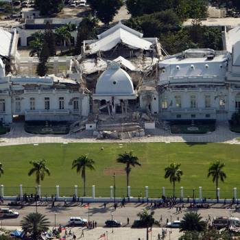 National Palace Of The Republic Of Haiti
