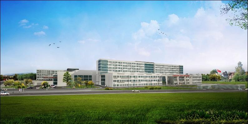 Seismic Isolated Eskişehir City Hospital