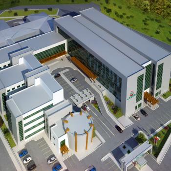 Seismic Isolated Kocaeli / Gölcük Public Hospital