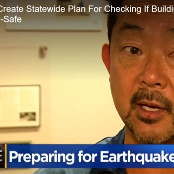 CBS News: Bill Would Create Statewide Plan For Checking If Buildings Are Earthquake-Safe