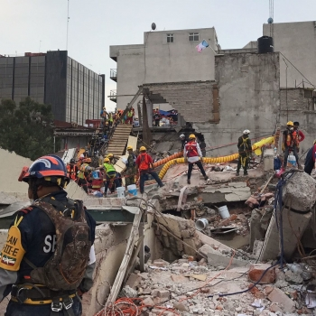LA Times: It was a Mexico City office building. Now, after the earthquake, it's a tomb