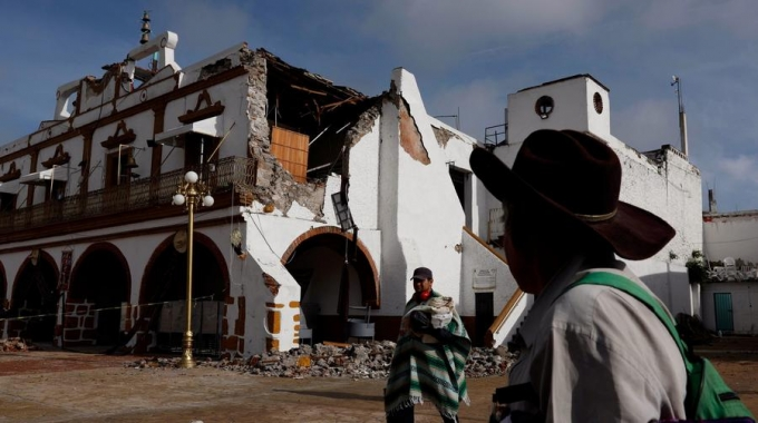 LA Times: In this Mexican town broken by an earthquake, hope rises