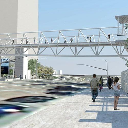 Universal Station Pedestrian Bridge
