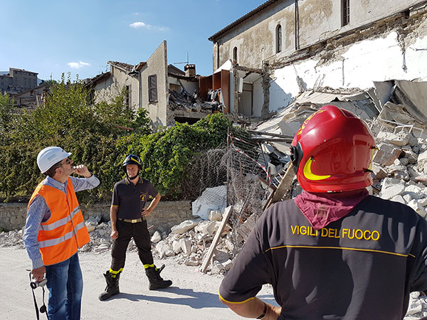 Central Italy Earthquake Journal – Day 1