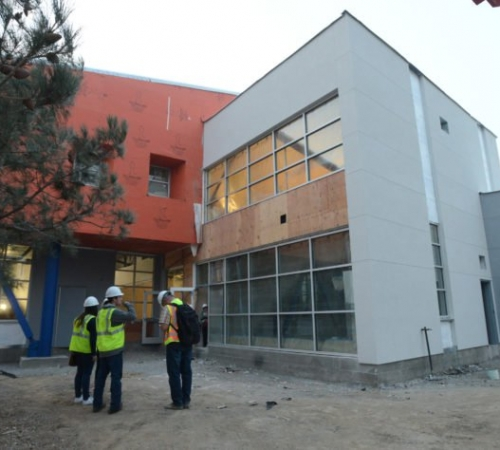 Daily Republic: Crews work to build future with PSA library project