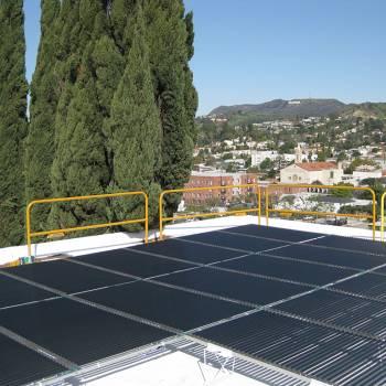 Solyndra Isolated Solar Array