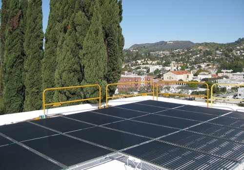 Solyndra Isolated Solar Array for the Los Angeles Municipal Art Gallery