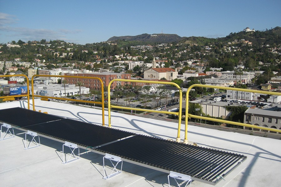Solyndra Isolated Solar Array