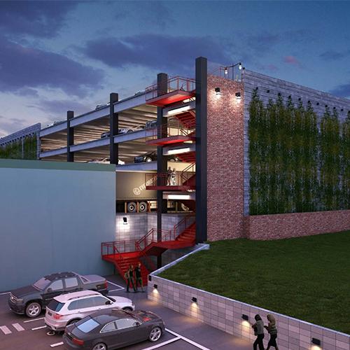 Standard Works Parking Garage