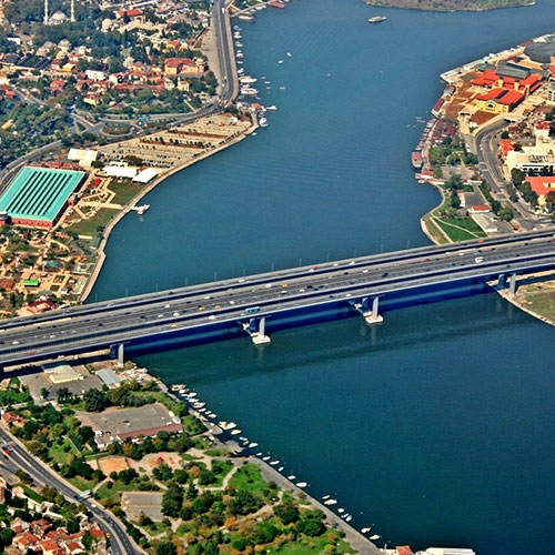 Seismic Reinforcement Project for Old Golden Horn Bridge