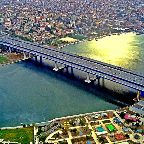 Seismic Reinforcement Project for New Golden Horn Bridge (A,B)
