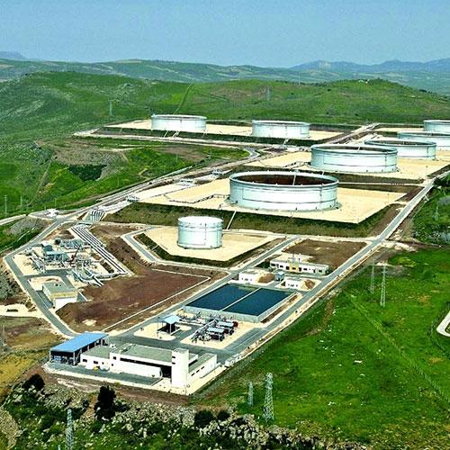 BTC Pipeline, Ceyhan Onshore Terminal